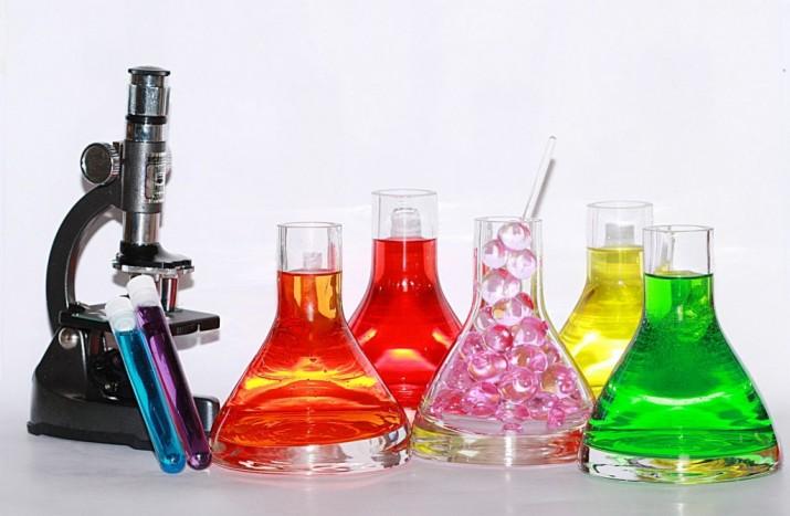 химия колбы