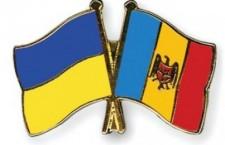 флаги, молдова-украины, молдо-украинское сотрудничество
