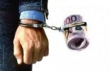 coruptie коррупция, взятка. наручники