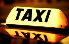 Taxi cab sign такси