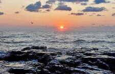 marea-neagra Черное море закат apus