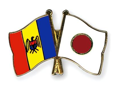 Moldova-Japania Молдова Япония флаг