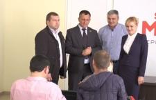 Кандидат в президенты Молдовы Инна Попенко открыла предвыборный штаб в Оргееве