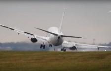 Самолет опасная посадка