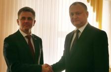 Встреча президента Молдовы Игоря Додона и приднестровского лидера Вадима Красносельского