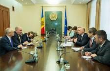 Встреча премьера Молдовы Павла Филипа и замглавы МИд России Григория Карасина