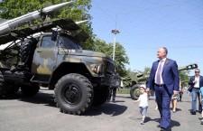 Додон выставка советская военная техника