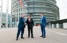 Илан Шор в Европарламенте