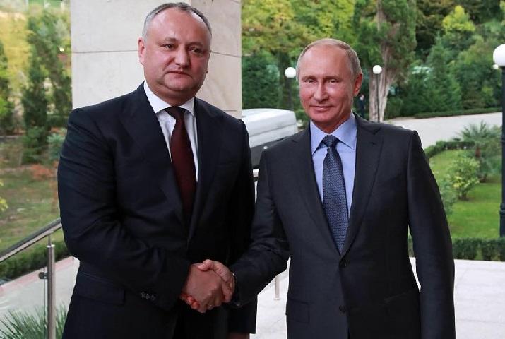 Додон Путин
