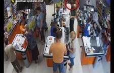 Внимание, розыск: кража из супермаркета в Кишиневе