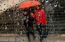 дождь зонт город