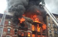пожар Нью-Йорк