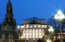 Здание Александринского театра в Санкт-Петербурге (Театр драмы им. А.С.Пушкина)