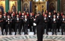 Хор в Петербурге исполнил песню об атомной бомбардировке