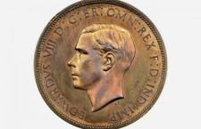 монета с профилем Эдуарда III, британия